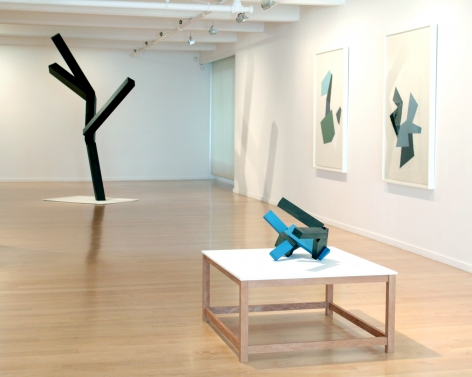Installation view: Joel Shapiro: Sculpture and Drawings, 2012