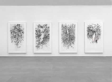 Julie Mehretu , Myriads, Only By Dark, 2014