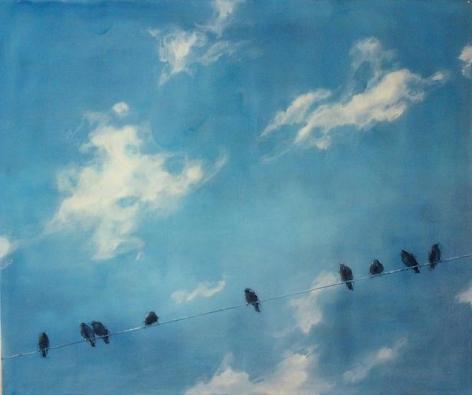 Black Birds, One Line