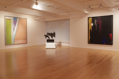 Installation view ofLooking Back: 45 Years, 2015