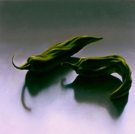 Peppers 2007 oil on canvas