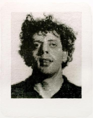 Chuck Close, Phil I, 1982