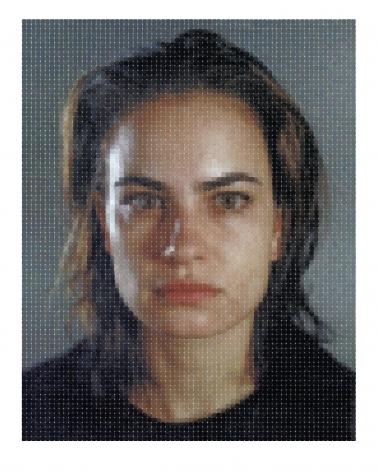 Chuck Close, Inka, 2012