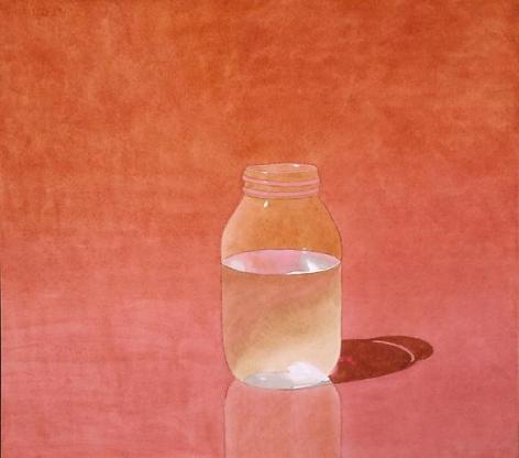 Pink Water Jar