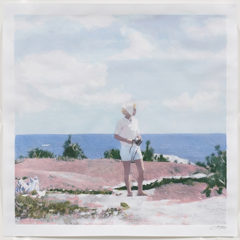 Isca Greenfield-Sanders The View, 2017