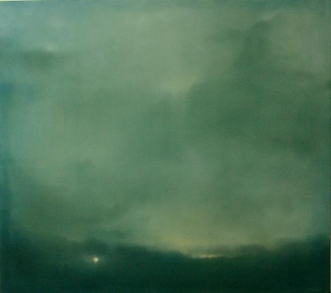 Apart 2008 oil on canvas