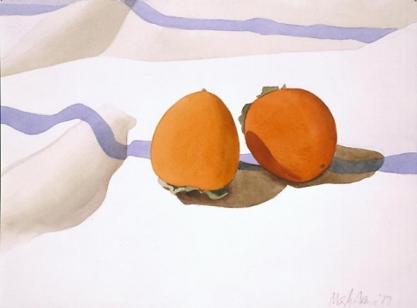 Two Persimmons 1977