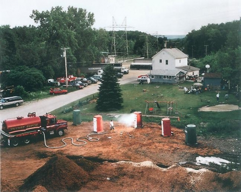 Gregory Crewdson Untitled (yankee septic emergency)