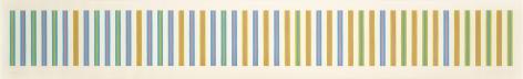 Bridget Riley, Sequence Study 2, Turquoise, Ochre, Magenta,1973