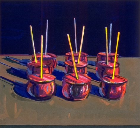 Wayne Thiebaud Candy Apple, 1987