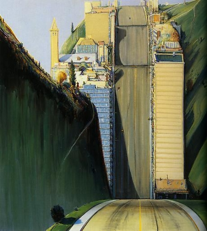 Wayne Thiebaud Park Place, 1993