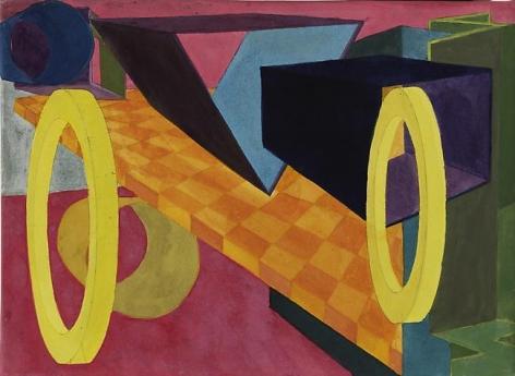 Al Held Untitled, 2003