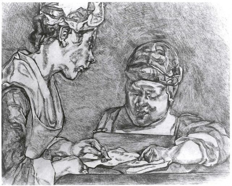 Lucian Freud After Chardin