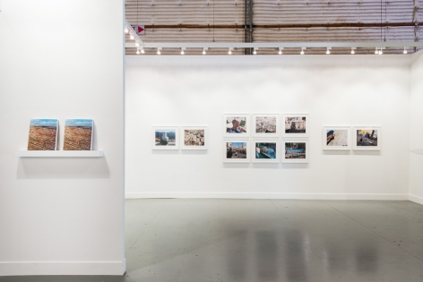 Stephen Shore, Installation view: Paris Photo, Los Angeles, 303 Gallery, Stage 31, Booth 02, 2014