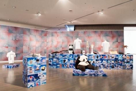Rob Pruitt, Installation view: Yokohama Triennial 2017, Yokohama Museum of Art, Yokohama, Japan, 2017