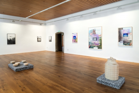 Marina Pinsky, Installation view: Incidents, Kunstverein Göttingen, 2018