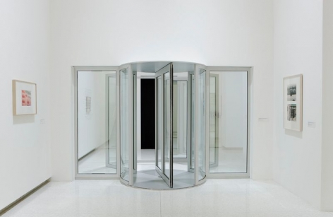 Installation view: Dan Graham: Beyond, Walker Art Center, Minneapolis, 2009