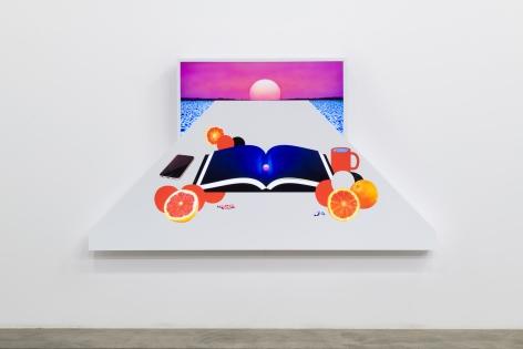 Doug Aitken, Still Life with Setting Sun