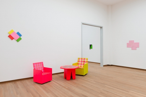 Mary Heilmann, Installation view: Good Vibrations Bonnefantenmuseum, Maastrich, 2012