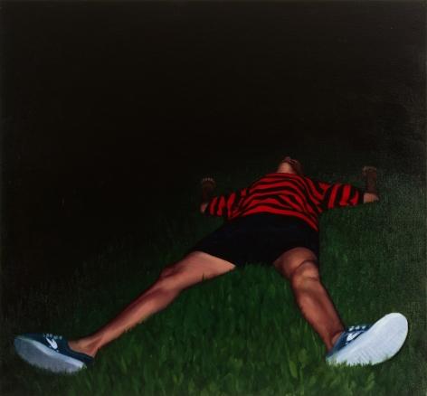 Tim Gardner, Untitled (Nick, striped shirt), 1999