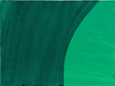 Mary Heilmann, Green Room, Turquoise Lights