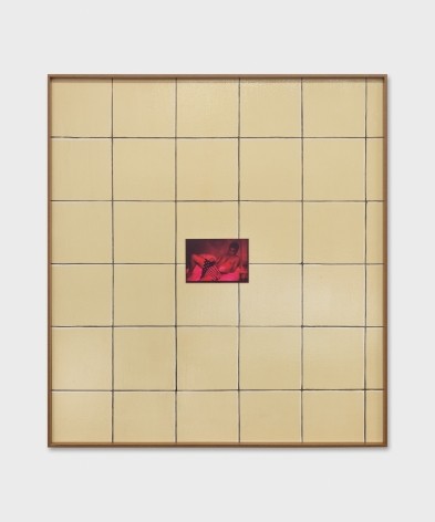 Valentin Carron, Wall Tile And Chroma, 2019