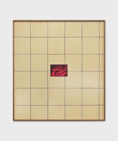 Valentin Carron, Wall Tile And Chroma, 2019