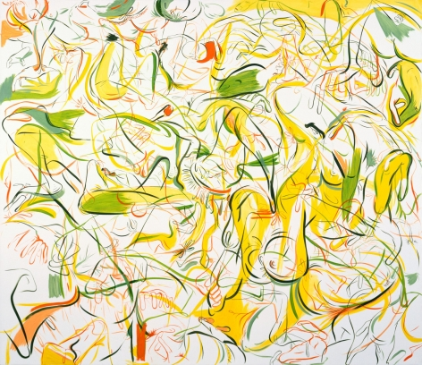 Sue Williams, Summer of the Lemon-Lime Shoes, 1997