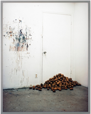 Rodney Graham, Potatoes Blocking My Studio Door, 2006