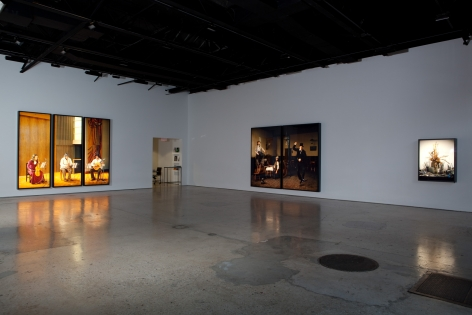Rodney Graham, Music and Dance, Installation at 303 Gallery, 2010