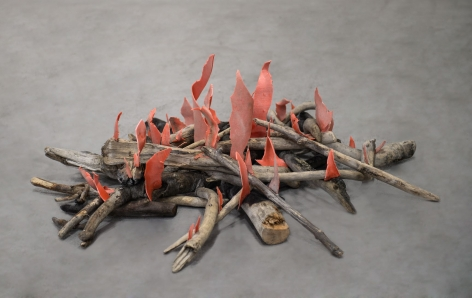 Mike Nelson, Diyagram (Amnesiac beach fire), 2015