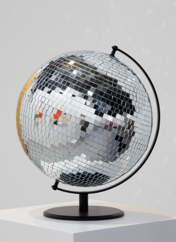 Ceal Floyer, Mirror Globe, 2014