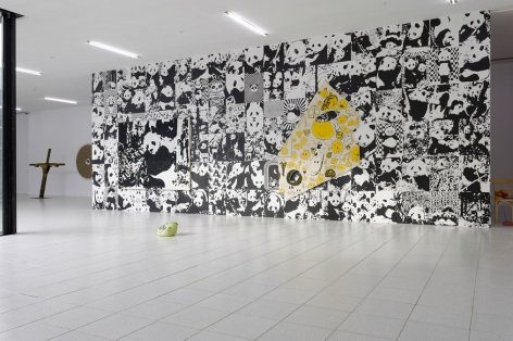 Rob Pruitt, Installation view: Three Blind Mice, Museum Dhondt-Dhaenens, 2014