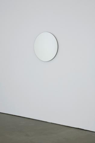 Jeppe Hein, Rotating Mirror Circle, 2008
