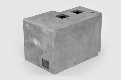 Jacob Kassay, Untitled (LIH), 2017