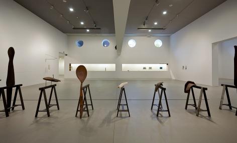 Katinka Bock, Installation view:Log Book, Artium, Vitoria-Gasteiz, Spain,2021