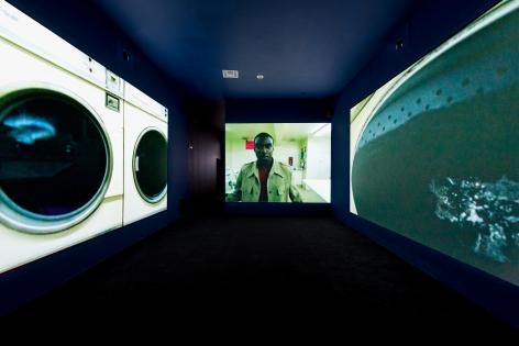 Doug Aitken, electric earth, 1999, MOCA Los Angeles, 2016