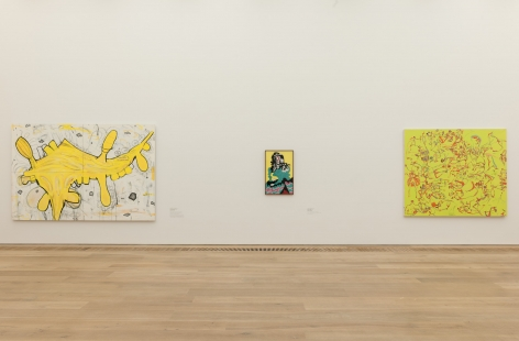 Installation view:Painting 2.0: Expression in the Information Age