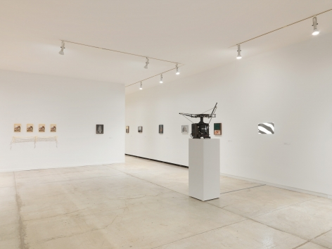 Installation view of Elad Lassry, exhibition at the Vancouver Art Gallery, June 24 to October 1, 2017