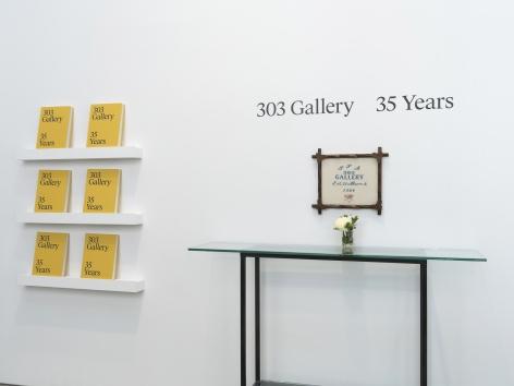 Installation view: 303 Gallery: 35 Years, 303 Gallery, New York, NY, Photo: John Berens