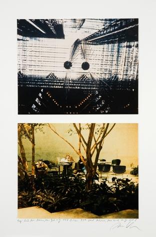 Dan Graham, Park Ave. Atrium, New York; 57th Street Atrium, New York, NY, 1986