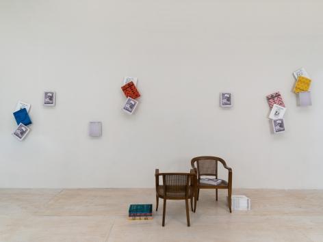 Nick Mauss, Installation view: Printed Matter's New York Art Book Fair, 303inPrint, Booth M01, 2017