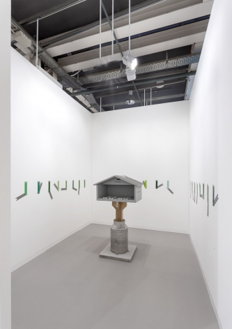 Installation view, Art Basel, 2017, 303 Gallery, Booth L21