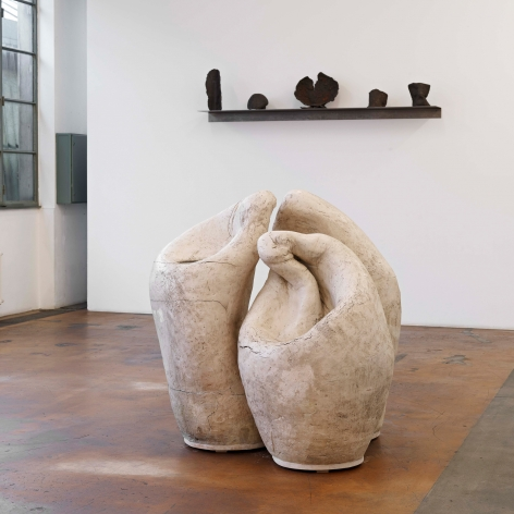 Installation view: Katinka Bock,40 Räuber,MAMCO, Genève, 2013, Photo: Ilmari Kalkkinen