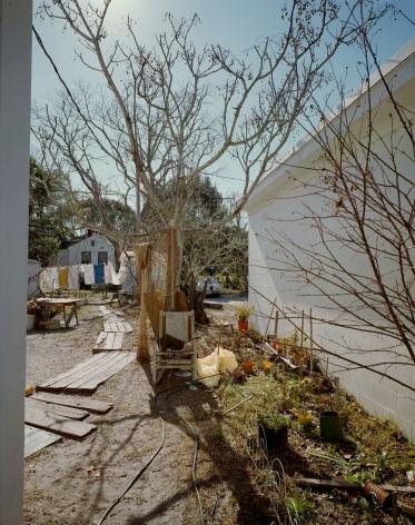 Stephen Shore, Backyard off U.S. 98, Apalachacola, Florida, February 4, 1976