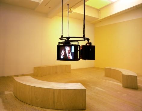 Doug Aitken, these restless minds, 1998, Installation view: 303 Gallery, 1998