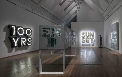 Doug Aitken, Installation view: Schirn Kunsthalle Frankfurt, 2015