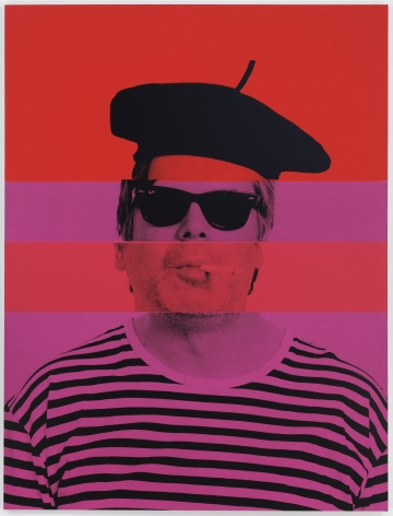 Rob Pruitt, Exquisite Self-Portrait: The Artist