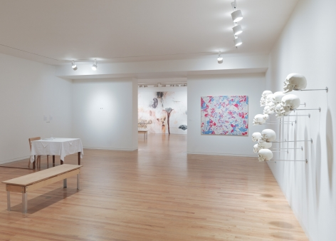 Sue Williams, Installation view: Visceral Bodies. Vancouver Art Gallery, 2010