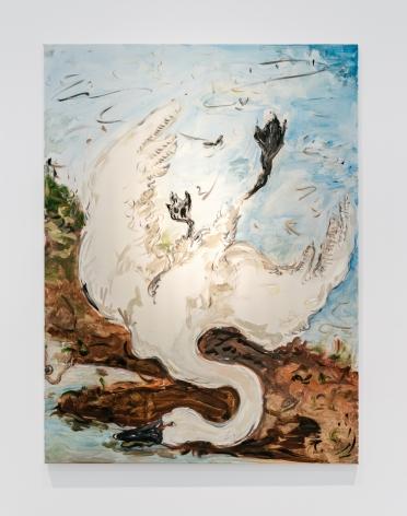 Tanya Merrill, Swan on the shore